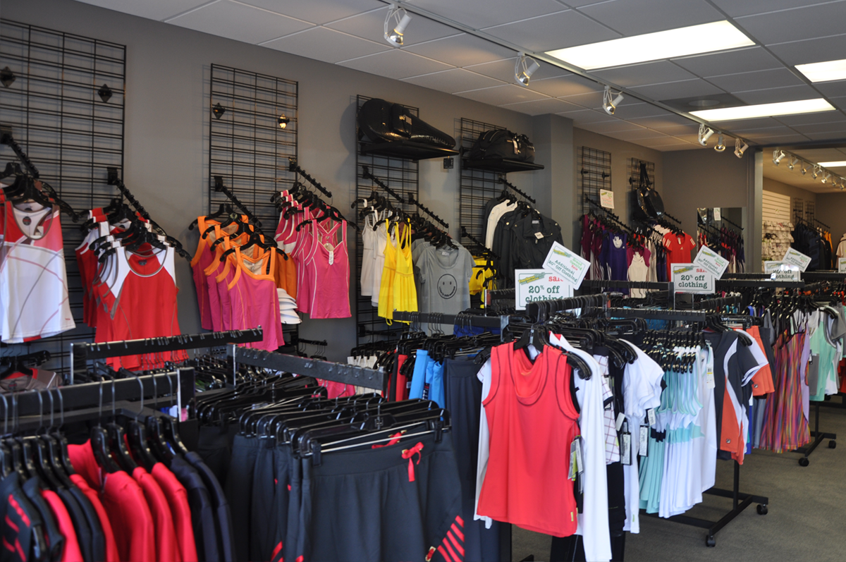 YST Buckhead Ladies Clothing Section