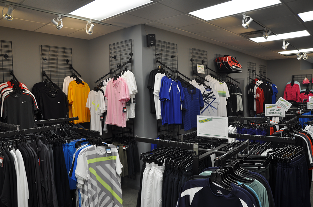 YST Buckhead Mens Clothing Section